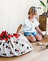 Play&Go Sacco Portagiochi e Tappeto 2 in 1 in cotone - Collezione Disney, Topolino Rosso Contenitori Porta Giochi