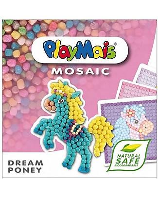 Playmais PlayMais Mosaic, Dream Pony – 2300 pezzi + cartoncini da decorare – Oltre 8 ore di gioco! Giochi Creativi