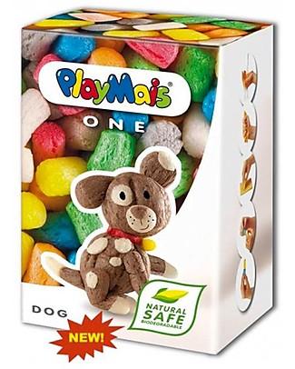 Playmais PlayMais One, Cane – 70 pezzi + istruzioni – Perfetto regalino per le feste! Giochi Creativi