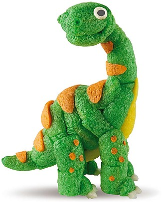 Playmais PlayMais One, Dinosauro – 70 pezzi + istruzioni – Perfetto regalino per le feste! Regalini