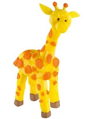 Playmais PlayMais One, Giraffa – 70 pezzi + istruzioni – Perfetto regalino per le feste! Giochi Creativi