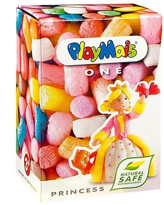 Playmais PlayMais One, Principessa – 70 pezzi + istruzioni – Perfetto regalino per le feste! Giochi Creativi