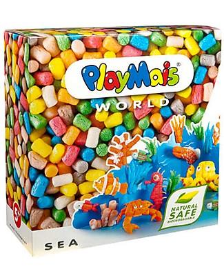Playmais PlayMais World, Mare – 1000 pezzi + istruzioni – Oltre 10 ore di gioco! Giochi Creativi
