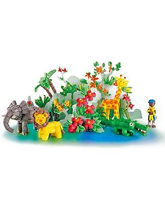 Playmais PlayMais World, Safari – 1000 pezzi + istruzioni – Oltre 10 ore di gioco! Giochi Creativi