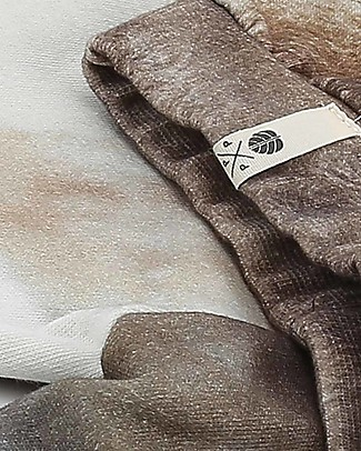 Popupshop Baby Pantaloni Lunghi in Felpa, Foca - Cotone bio Pantaloni Lunghi