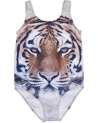 Popupshop Costume Intero Bimba, Tiger Costumi Interi