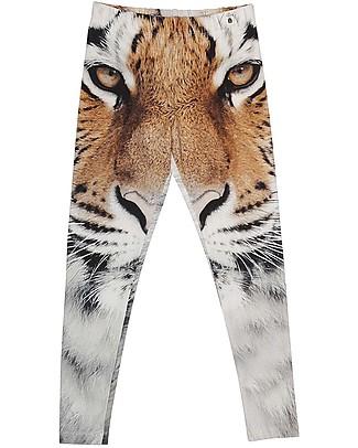 Popupshop Leggings Bimbi, Tigre - Cotone bio Leggings