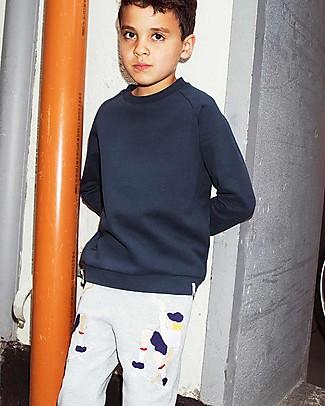 Popupshop Pantaloni Lunghi in Felpa, Skater - Cotone bio Pantaloni Lunghi