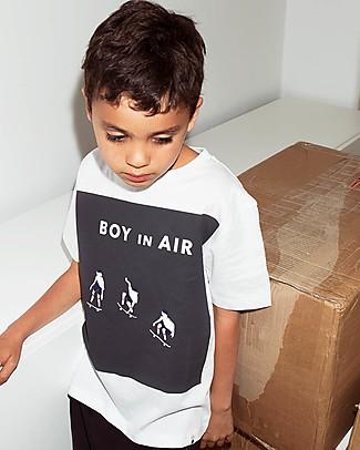Popupshop T-shirt Maniche Corte, Skater - 100% Cotone bio T-Shirt e Canotte