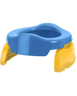 Potette 2in1 Potette 2in1, Vasino da Viaggio e Riduttore WC - Blu Vasini
