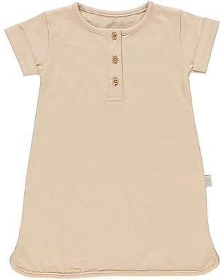 Poudre Organic Abito T-shirt Bimba Calendula, Luce Ambrata - 100% cotone bio Vestiti