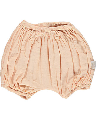 Poudre Organic Baby Bloomer, Pink - 100% organic cotton Shorts