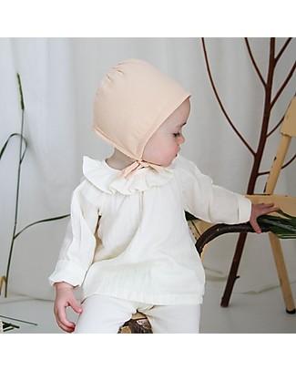 Poudre Organic Cuffietta Baby in Cotone Bio, Rosa Cappelli