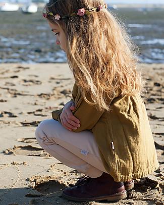 Poudre Organic Leggings in Jersey Cotone Bio, Luce Ambrata Leggings