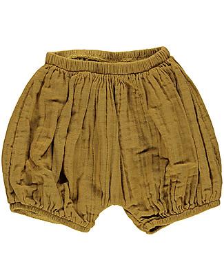 Poudre Organic Pantalone a Palloncino Copripannolino, Canna da Zucchero – 100% cotone bio Pantaloni Corti