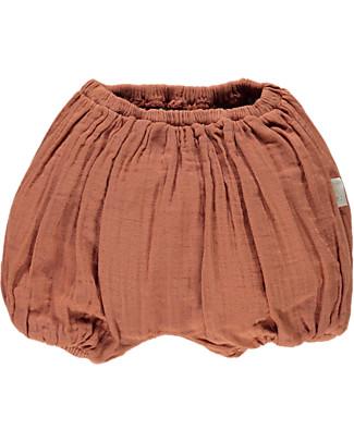 Poudre Organic Pantalone a Palloncino Copripannolino, Sierra – 100% cotone bio Pantaloni Corti