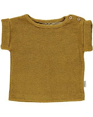 Poudre Organic T-shirt in Spugna Laurier, Carta da Zucchero (18-24 mesi) - 100% cotone bio T-Shirt e Canotte