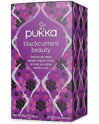 Pukka Blackcurrant Beauty, Tisana al Ribes Nero, 20 bustine - Per Risplendere Dentro e Fuori Tisane