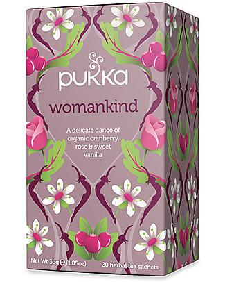 Pukka Womankind, Tisana Donna al Mirtillo, Rosa e Vaniglia, 20 bustine – Nutre con dolcezza Tisane