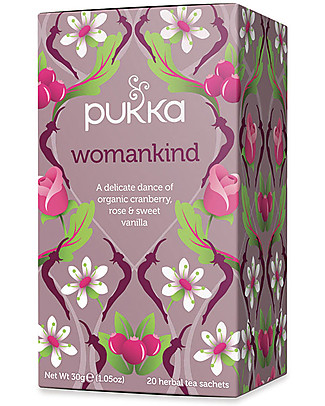 Pukka Womankind, Tisana Donna al Mirtillo, Rosa e Vaniglia, 20 bustine - Nutre con dolcezza Tisane