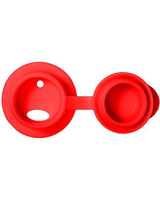 Pura Kiki Bottiglia Sport in Acciaio, Rosso, 850 ml – La prima al mondo 100% senza plastica! Borracce Metallo
