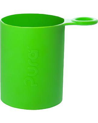 Pura Kiki Manicotto in Silicone per Bottiglia Pura Kiki Sport – Verde Borracce Metallo