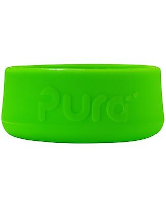 Pura Kiki Rivestimento in Silicone per Fondo Bottiglia in Acciaio Pura Kiki 325/250/150 ml, Verde Borracce Termiche