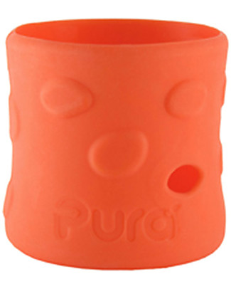 Pura Kiki Silicone Sleeves For 150ml Bottle - Orange Stainless Steel Baby Bottles