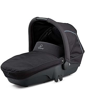 Quinny Navicella Foldable Carrycot Passeggino Moodd – Nero Special Carrozzine e Navicelle