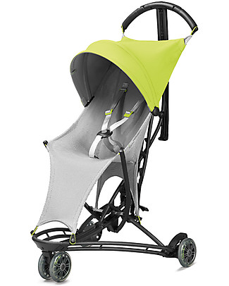 Quinny Yezz Air Stroller, Lime Flow – Comfy, Ultra-light, Portable! Ultra Lights Strollers