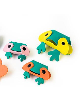 Quut Frog Pond - Rana da Bagno 3D da Comporre Giochi Bagno