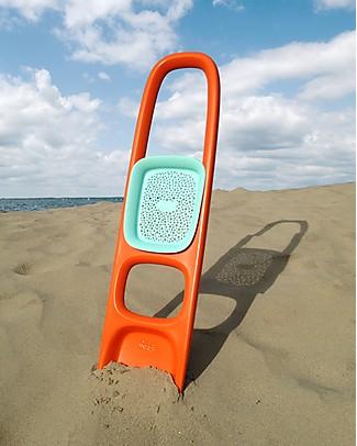Quut  Gioco Scoppi - Paletta Grande Multifunzione - Arancione (design innovativo!) Giochi Da Spiaggia
