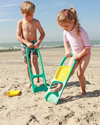 Quut Gioco Scoppi - Paletta Grande Multifunzione (design innovativo!) Giochi Da Spiaggia