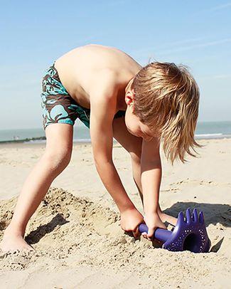 Quut Gioco Triplet - Paletta Multifunzione da Spiaggia - Viola Oceano (design innovativo!) Giochi Da Spiaggia