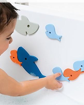Quut Puzzle da Bagno degli Squali - Divertente ed Eco-friendly Giochi Bagno