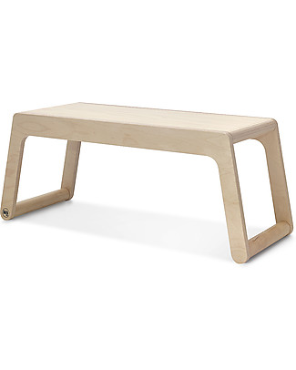Rafa Kids B Bench, Panca 90 cm, Legno Naturale - Betulla finlandese Tavoli