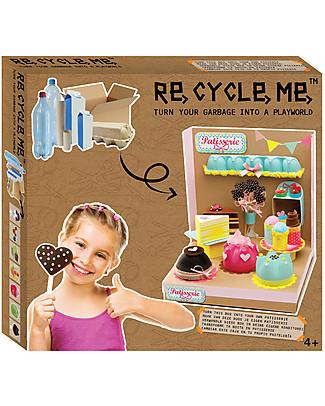 Re-Cycle-Me Set Gioco Ecologico Playworld Pasticceria - Costruisci il tuo locale usando oggetti di riciclo! Giochi Creativi
