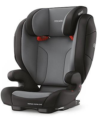 Recaro Seggiolino auto Monza Nova Evo, Gruppo II-III, (12-36 kg) - Carbon Black Seggiolini Auto