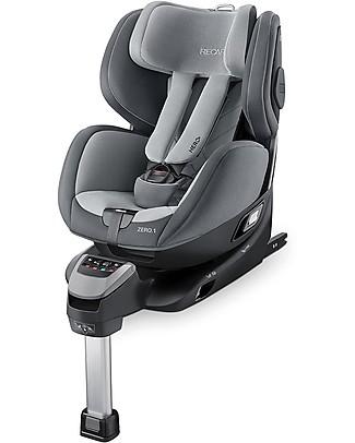 Recaro Seggiolino Auto ZERO.1 I.Size, 0-4 anni - Ruota a 360° in un clic! Seggiolini Auto