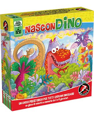 Red Glove Gioco 2in1 NasconDino - Trova i dinosauri! Memory