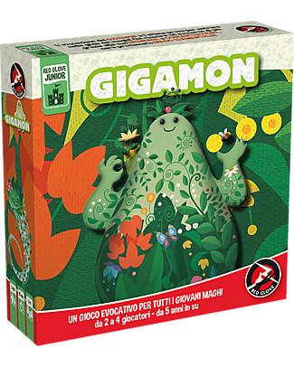 Red Glove Gioco da tavolo Gigamon - Gioca con gli elementi naturali! Giochi Da Tavolo
