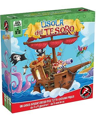Red Glove Gioco da Tavolo L'isola del Tesoro - Avvincente sfida tra pirati! Giochi Da Tavolo