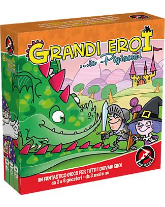Red Glove Grandi Eroi... in Pigiama! - 2 giochi in 1 Memory