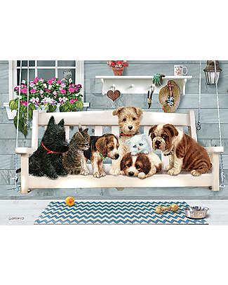 Red Glove Puzzle Animali da Compagnia, 350 Pezzi Memory