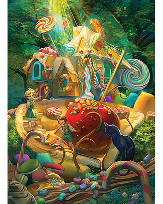 Red Glove Puzzle Candy Cottage, 350 Pezzi Memory
