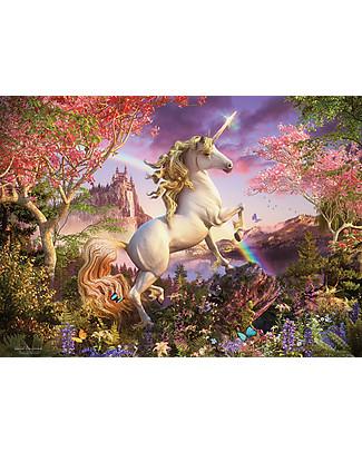 Red Glove Puzzle Regno dell'Unicorno, 350 Pezzi Memory