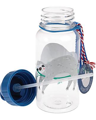 Rex London Borraccia 500 ml, Bradipo - Priva di BPA! Borracce senza BPA