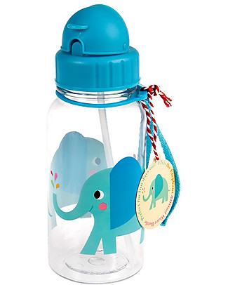 Rex London Borraccia 500 ml, Elvis the Elephant - Senza BPA! Borracce senza BPA