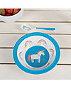 Rex London Ciotola Bimbi, Unicorno - Senza BPA, PVC, ftalati e piombo! Piatti e Scodelle