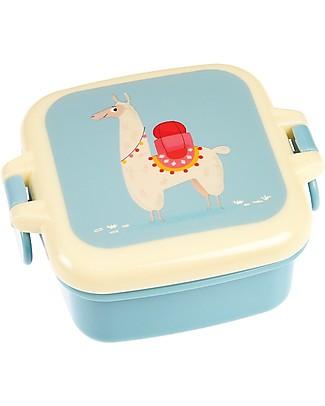 Rex London Contenitore Porta Merenda, Lama 9x7x3.9 cm - Privo di BPA! Contenitori Latte e Snack
